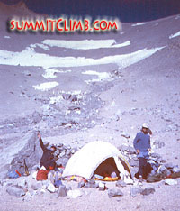 Camp 1 at 5000 Meters