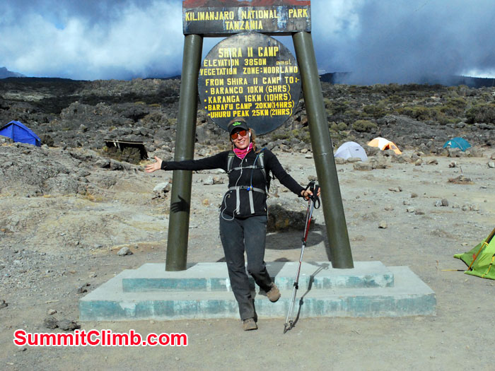 Kilimanjaro expedition began