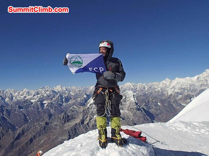 Summit Amadablam by Ron