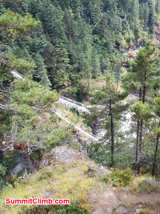 Trail toward Namche Bazaar