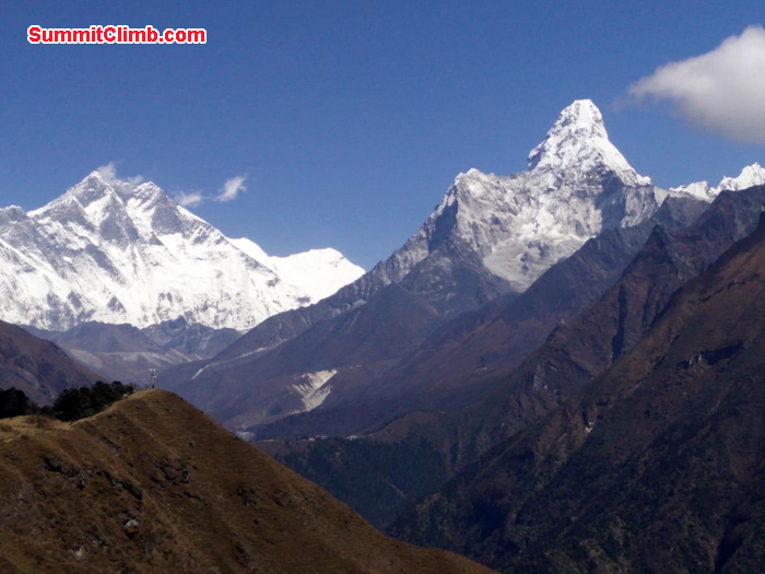 First view of AmaDablam