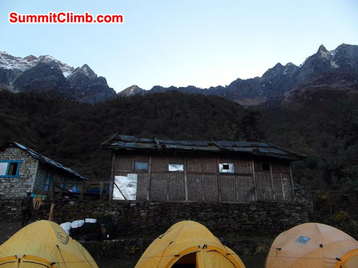 Kothey Tashi Ongma at 3500 metres-11,500 feet