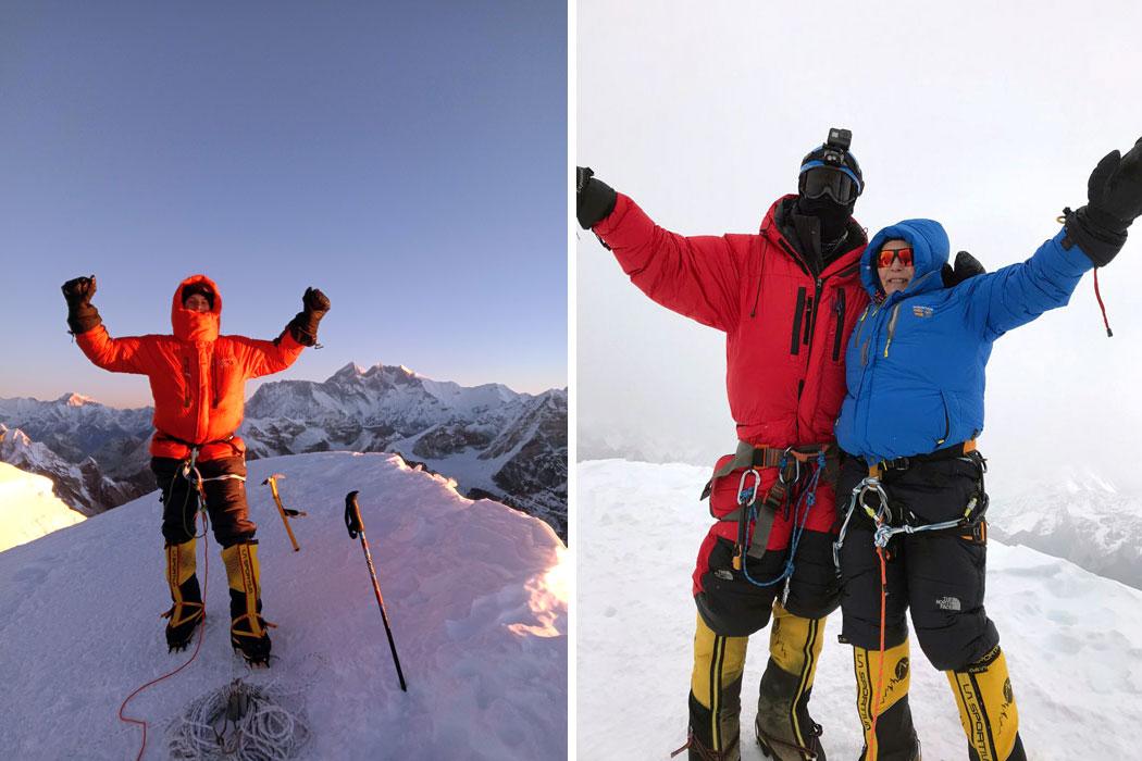 Summit of Mera Peak