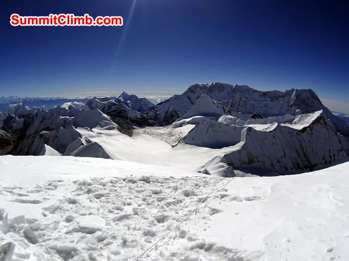 baruntse, summit, photo