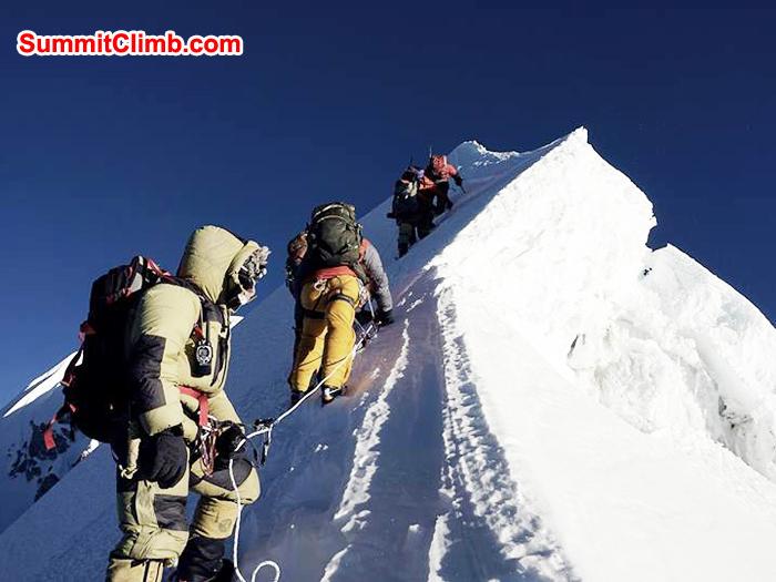 ascent of baruntse