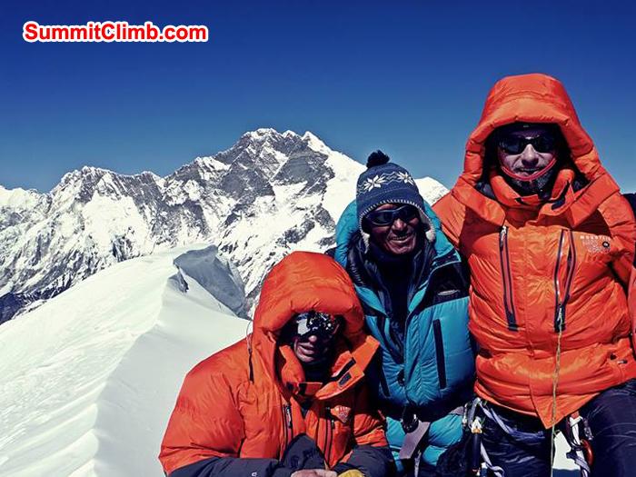 baruntse summit