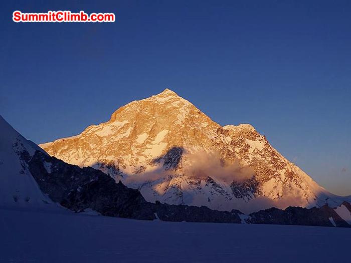 makalu 8485 meter from high camp 1 baruntse