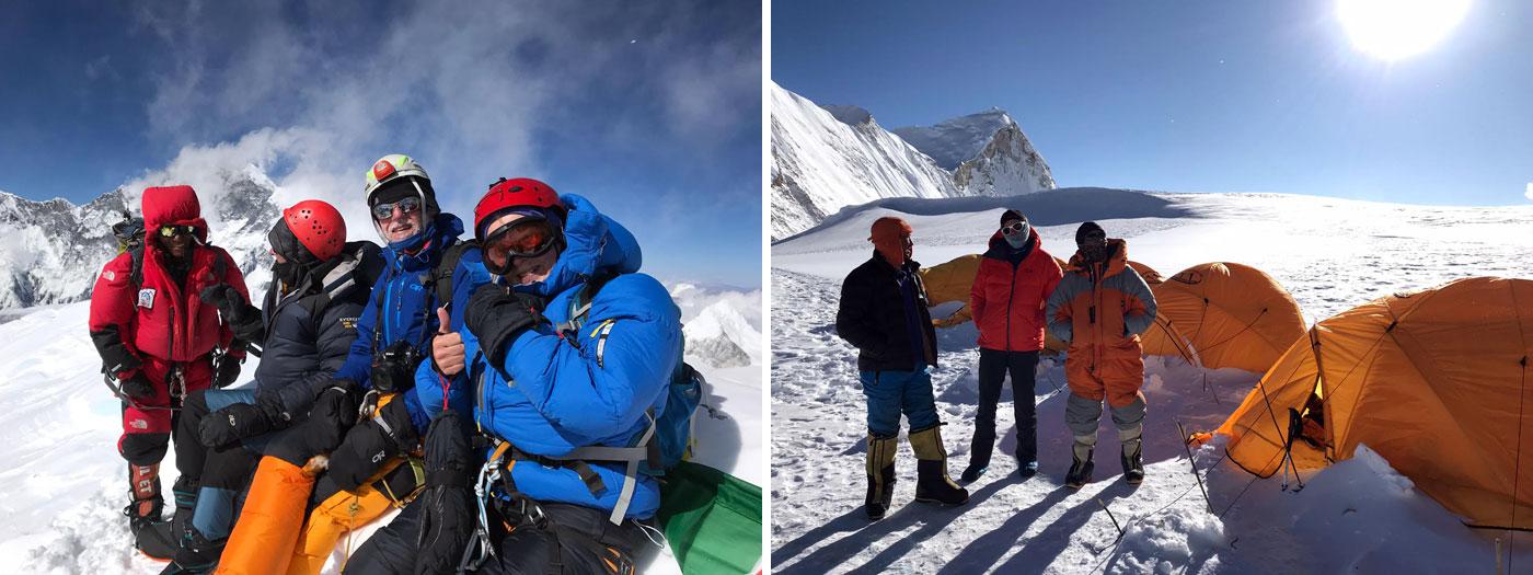 summit baruntse dan mazur