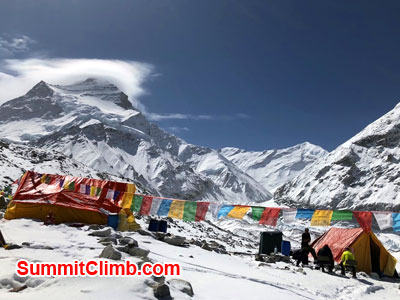 cho oyu news, chooyu basecamp