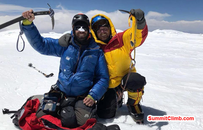 cho oyu news, summit photo