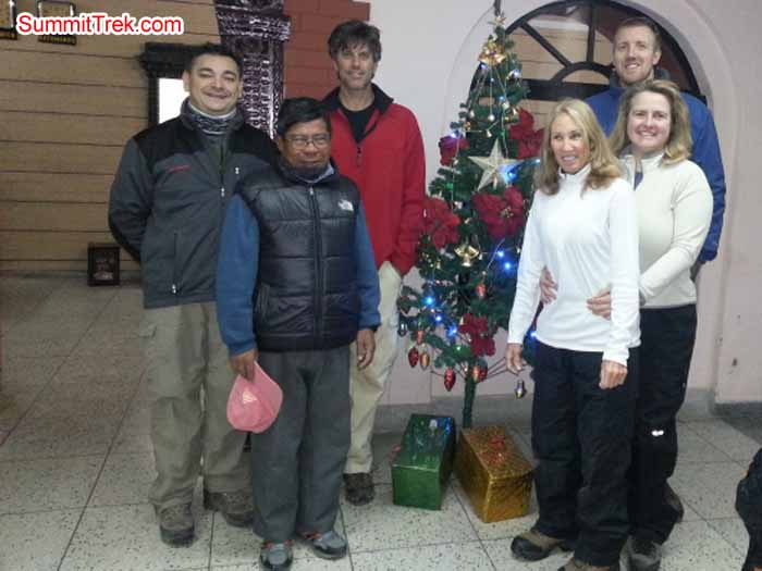 Christmas - New Year's Trek Team