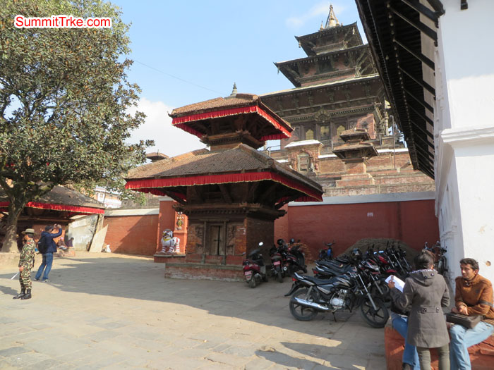 One of the oldest temple in kathmandu. Taleju. Photo Aless.