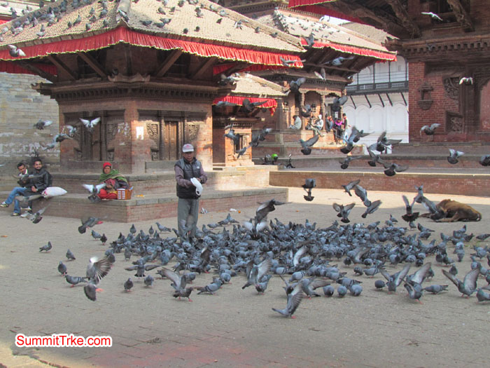 Kathmandu Darbar Square, nice place to visit. Photo Luke and Aless.