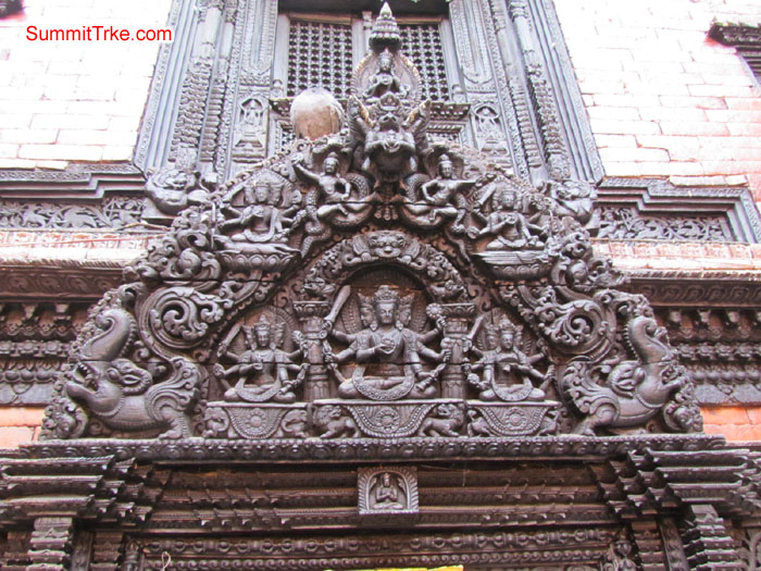 Wooden art in temples of Kathmandu. Photo Aless and Luke
