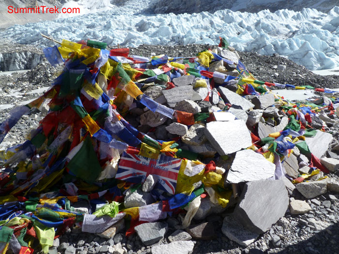 Everest Base Camp. Photo Scott