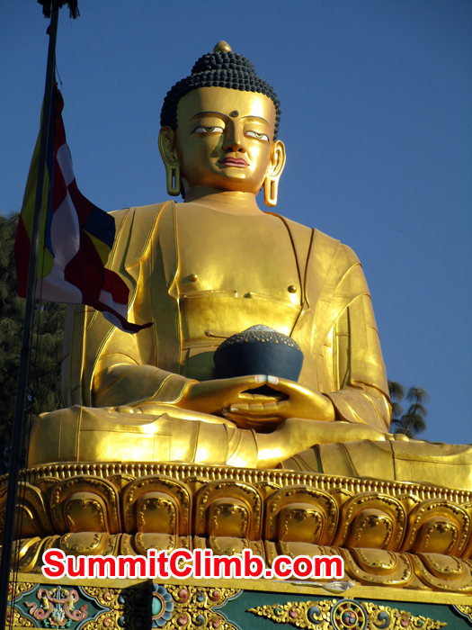 Budha statue. Photo Meryl Lipman