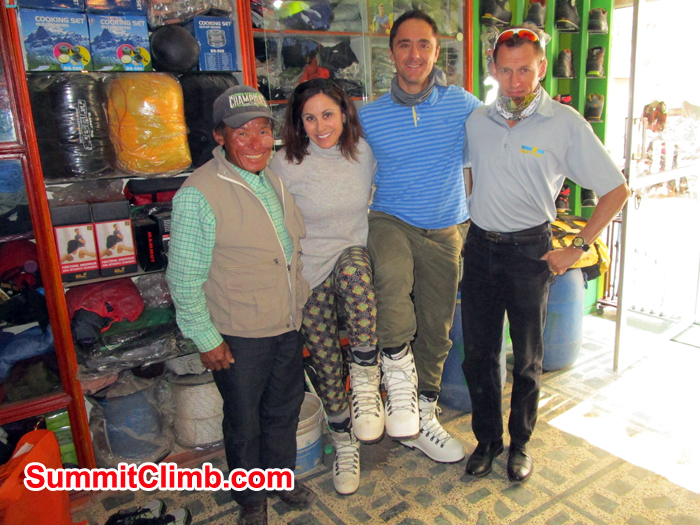Team at Personal Equipment Store. Photo Meryl Lipman