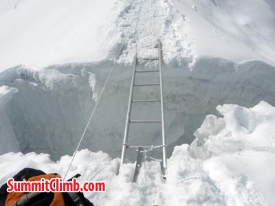 Ladders for crossing