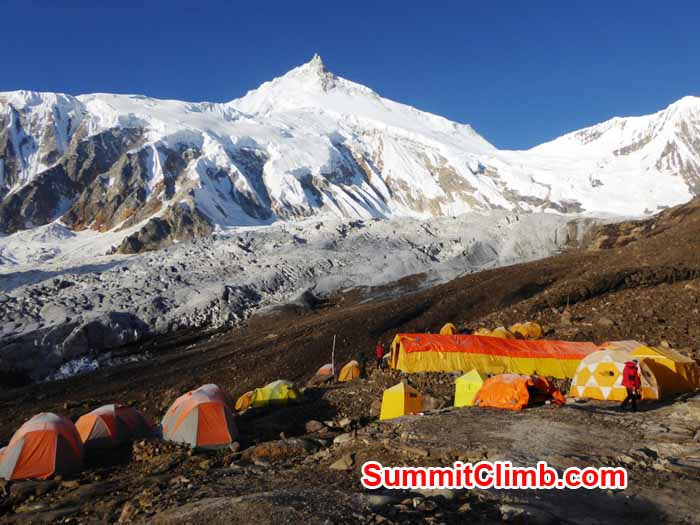 our basecamp at 4750 metres