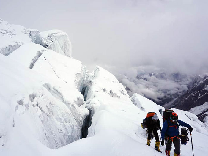 heading for summit