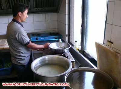cooking with biogas, icimod.JPG