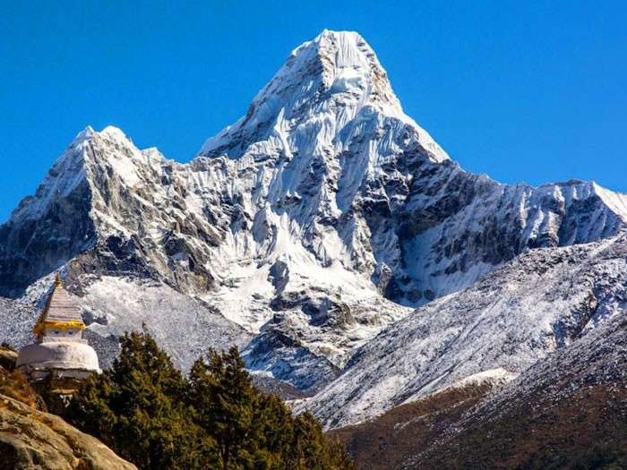 Ama Dablam Climb Expedition Summit