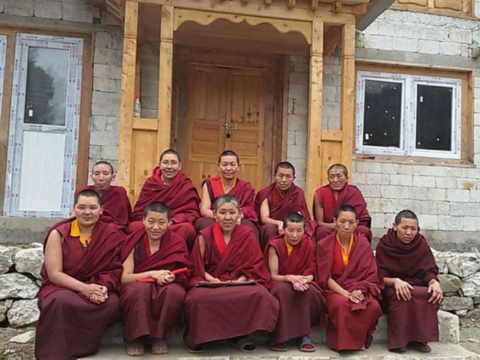 Anis at Deboche for 16 day meditation and puja