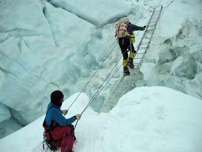 Ladder crossing