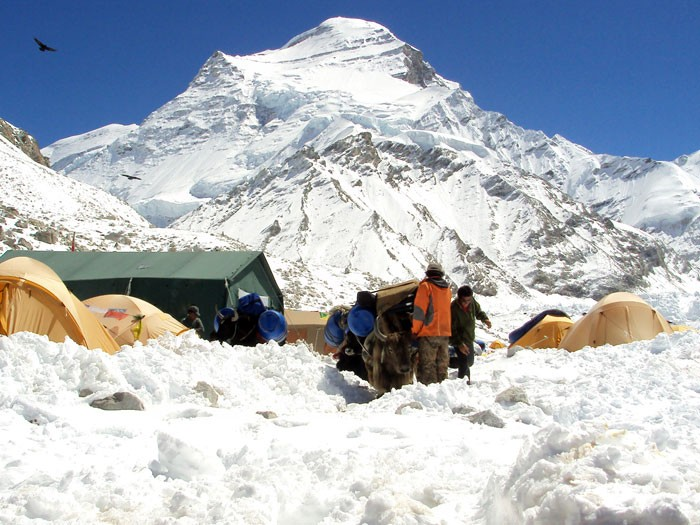 Cho Oyu Expedition Advance Base Camp