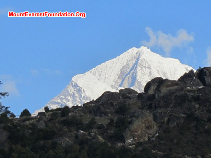Mountain from Namche