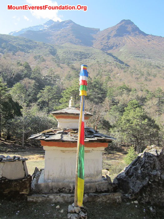 At the nun's Gonpa