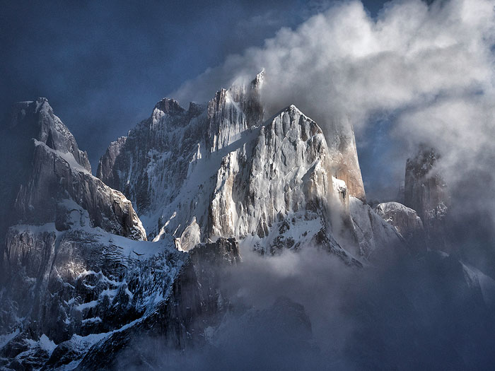 Cloudy View of the Trango Group