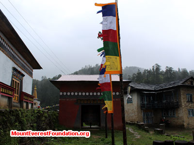 nepal volunteer trek,player flag