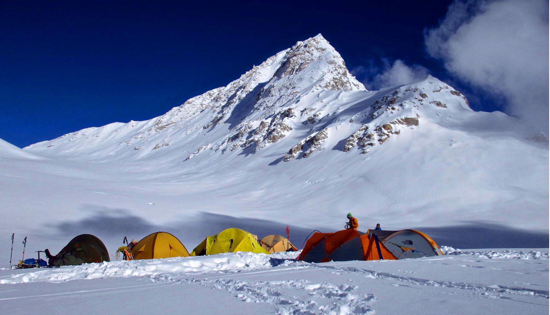 Shishapangma high camp